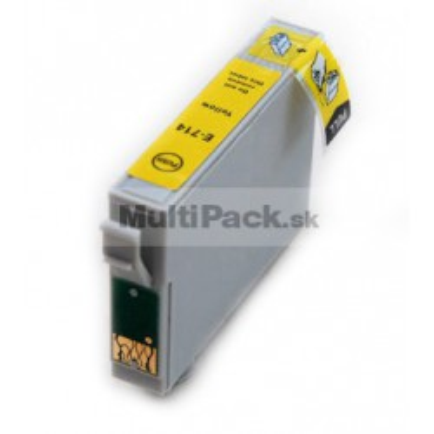 EPSON T0714 yellow - kompatibilná náplň do tlačiarne Epson