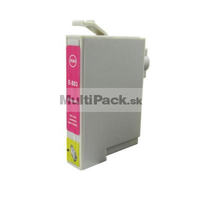 EPSON T0803 magenta - kompatibilná náplň do tlačiarne Epson