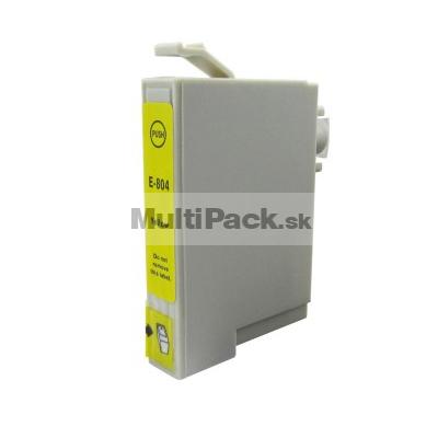 EPSON T0804 yellow - kompatibilná náplň do tlačiarne Epson