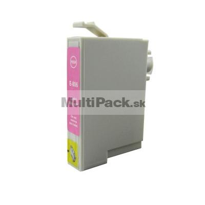 EPSON T0806 light magenta - kompatibilná náplň do tlačiarne Epson