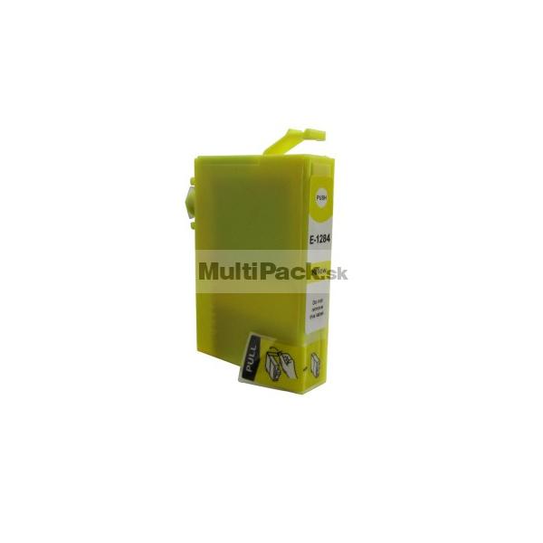 EPSON T1284 yellow - kompatibilná náplň do tlačiarne Epson