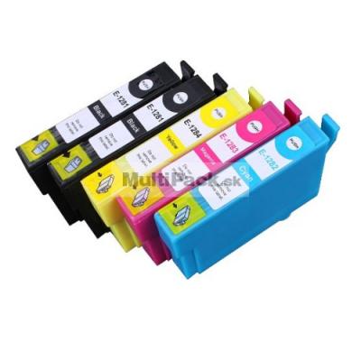 (5pack) EPSON T1285 multipack - kompatibilné náplne do tlačiarne Epson
