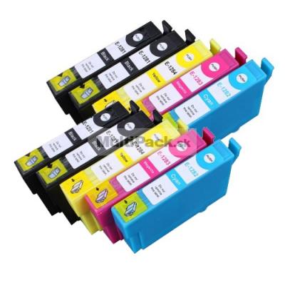 (10pack) EPSON T1285 multipack - kompatibilné náplne do tlačiarne Epson