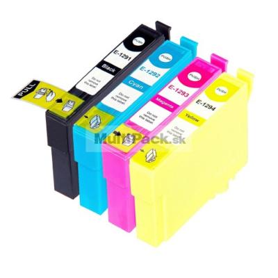 (4pack) EPSON T1295 multipack - kompatibilné náplne do tlačiarne Epson