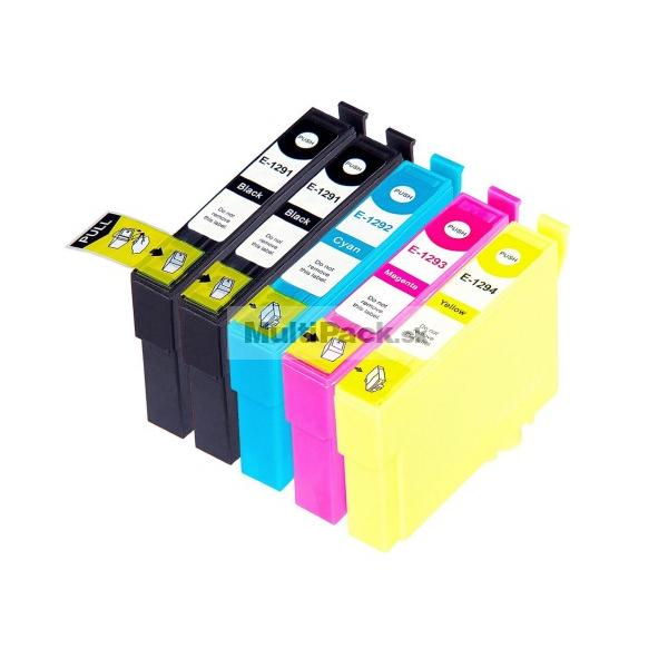 (5pack) EPSON T1295 multipack - kompatibilné náplne do tlačiarne Epson