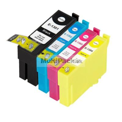 (4pack) EPSON T1306 multipack - kompatibilné náplne do tlačiarne Epson