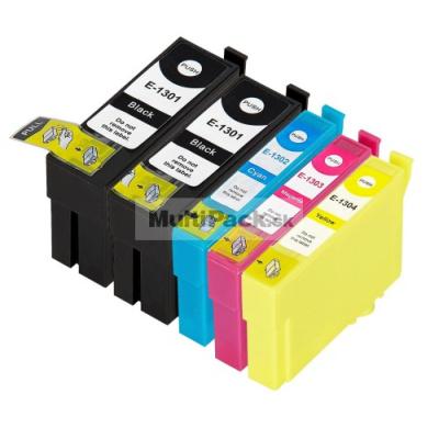 (5pack) EPSON T1306 multipack - kompatibilné náplne do tlačiarne Epson