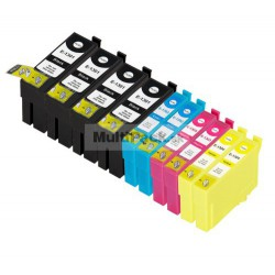 (10pack) EPSON T1306 multipack - kompatibilné náplne do tlačiarne Epson