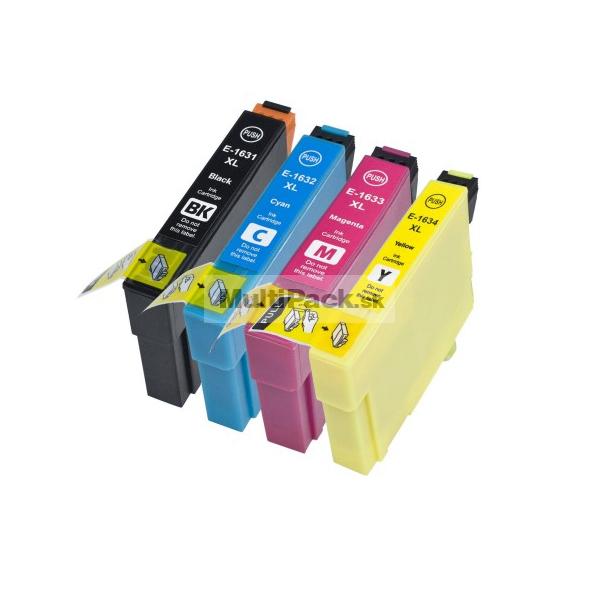 (4pack) EPSON T1636 multipack 16XL - kompatibilné náplne do tlačiarne Epson