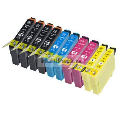 (10pack) EPSON T1636 multipack 16XL - kompatibilné náplne do tlačiarne Epson