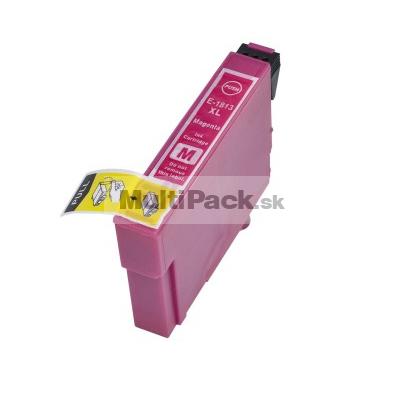 EPSON T1813 magenta 18XL - kompatibilná náplň do tlačiarne Epson