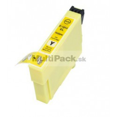 EPSON T1814 yellow 18XL - kompatibilná náplň do tlačiarne Epson