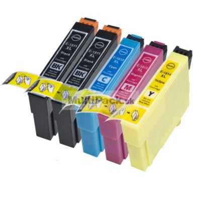 (5pack) EPSON T1816 multipack 18XL - kompatibilné náplne do tlačiarne Epson