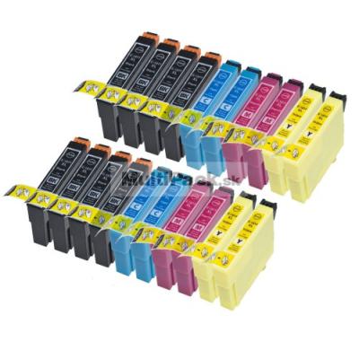 (20pack) EPSON T1816 multipack 18XL - kompatibilné náplne do tlačiarne Epson