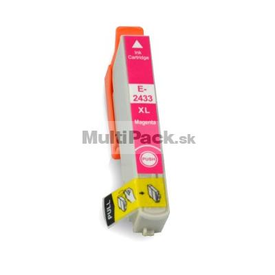 EPSON T2433 magenta 24XL - kompatibilná náplň do tlačiarne Epson