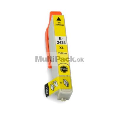 EPSON T2434 yellow 24XL - kompatibilná náplň do tlačiarne Epson