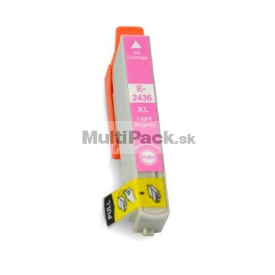 EPSON T2436 light magenta 24XL - kompatibilná náplň do tlačiarne Epson