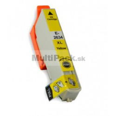 EPSON T2634 yellow 26XL - kompatibilná náplň do tlačiarne Epson