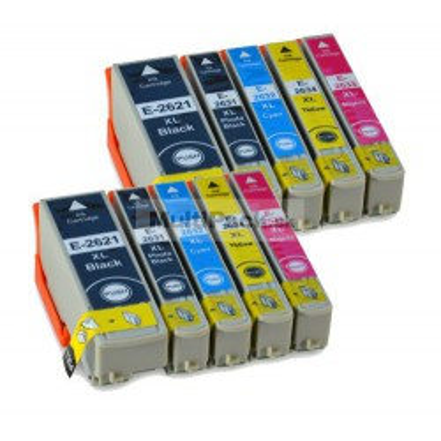 (10pack) EPSON T2636 multipack 26XL - kompatibilné náplne do tlačiarne Epson