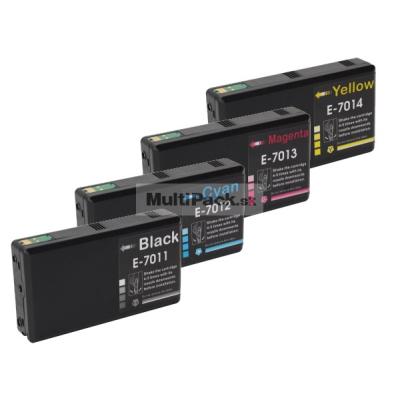 (4pack) EPSON T7011-14 multipack XXL - kompatibilné náplne do tlačiarne Epson