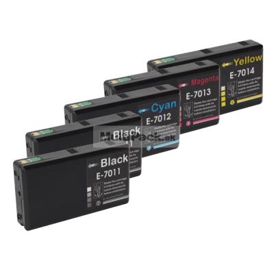 (5pack) EPSON T7011-14 multipack XXL - kompatibilné náplne do tlačiarne Epson