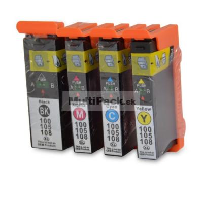 (4pack) LEXMARK 100XL multipack - kompatibilné náplne do tlačiarne Lexmark