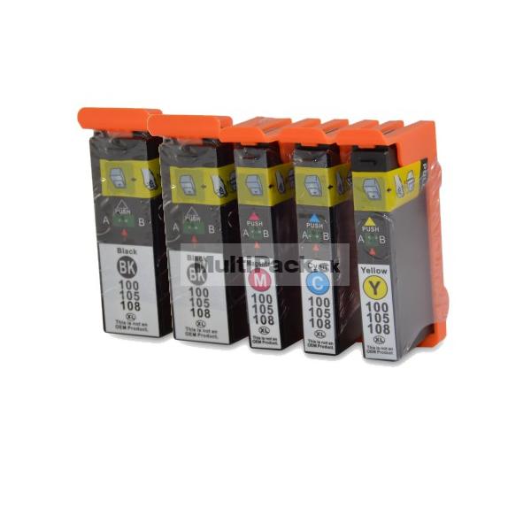 (5pack) LEXMARK 100XL multipack - kompatibilné náplne do tlačiarne Lexmark