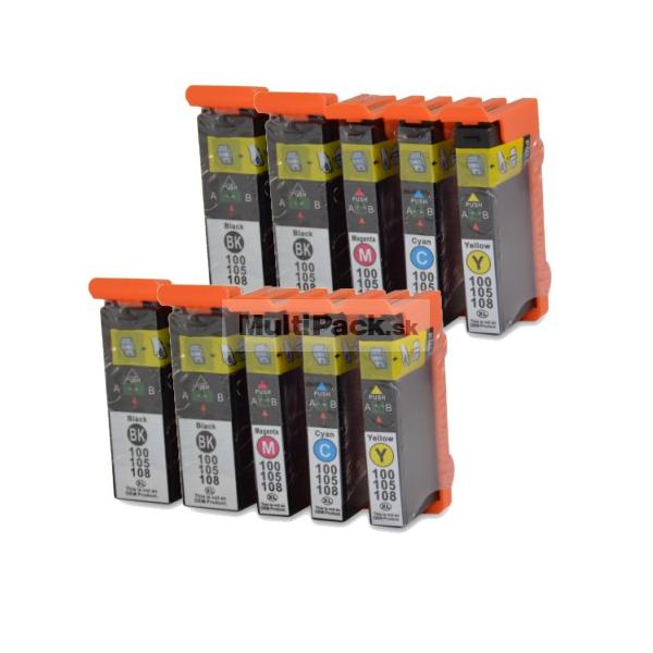 (10pack) LEXMARK 100XL multipack - kompatibilné náplne do tlačiarne Lexmark