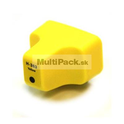 HP 363 yellow - kompatibilná náplň do tlačiarne HP