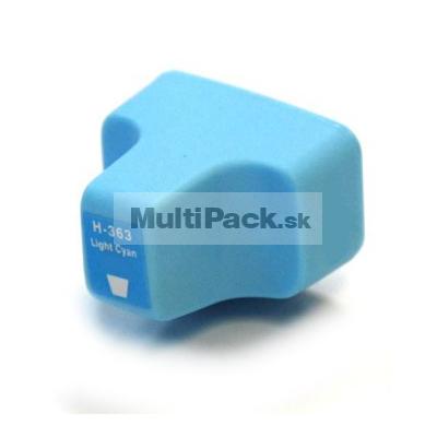 HP 363 light cyan - kompatibilná náplň do tlačiarne HP