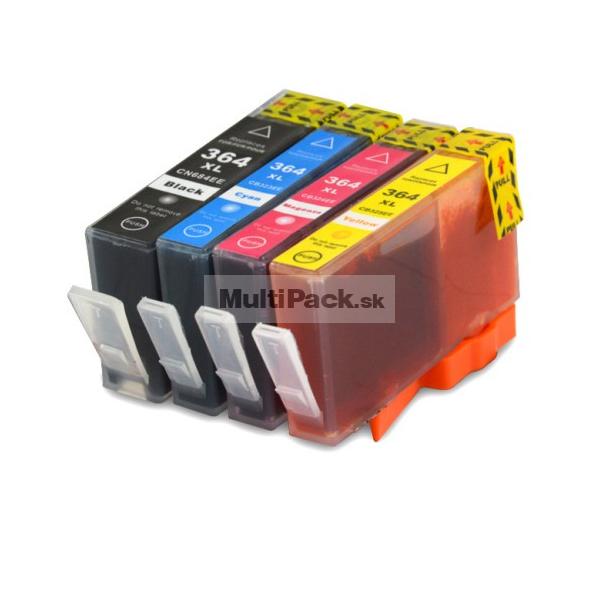 (4-pack) HP 364XL multipack - kompatibilné náplne do tlačiarne HP