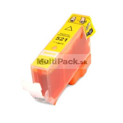 CANON CLI-521 Y yellow - kompatibilná náplň do tlačiarne Canon
