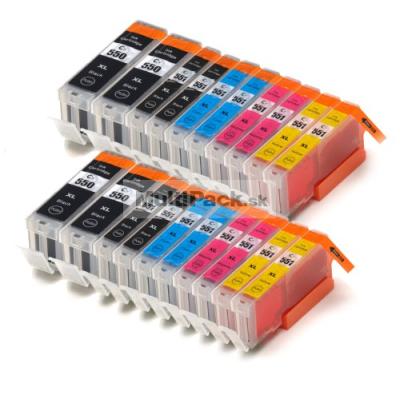 (20pack) CANON PGI-550 CLI-551 XL multipack do tlačiarne Canon - kompatibilný