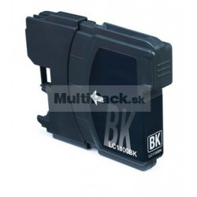 BROTHER LC1100 BK black - kompatibilná náplň do tlačiarne Brother