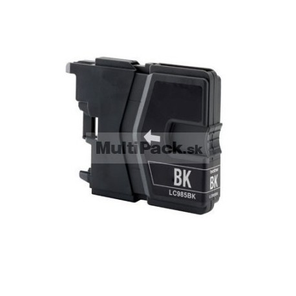 BROTHER LC985 BK black - kompatibilná náplň do tlačiarne Brother