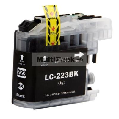 BROTHER LC-223 BK ( LC223BK ) - kompatibilná náplň do tlačiarne Brother