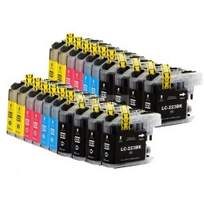 (20pack) BROTHER LC-223 Value Pack ( LC223 multipack ) - kompatibilné náplne do tlačiarne Brother