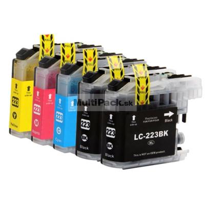 (5pack) BROTHER LC-223 VALBP ( LC223 VALBP multipack ) - kompatibilné náplne do tlačiarne Brother